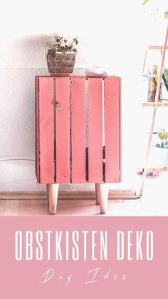 » Obstkisten DIY - so wird deine Holzkisten zum Deko-Hingucker!