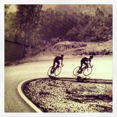 I LOVE the downhill!!  Rapha cycling image