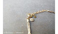 Trois Petits Points #bracelet Lace doré #frenchfashion #madeinfrance #troispetitspoints