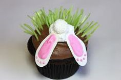 Rabbit stuck in rabbit hole cute for easter