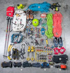 Liberty Mountain Climbing: Gear Quiver: Ice Climbing