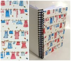 Baby Clothes Spiral Notebook 4 x 6 by Ciaffi on Etsy, $10.00