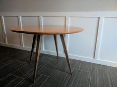 Mid-century modern table that I made recently for a friend : woodworking