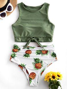 Shop trendy fashion swimwear online, you can get sexy bikinis, swimsuits & bathing suits for women on ZAFUL. Bathing Suits For Teens, Summer Bathing Suits, Swimsuits For Teens, Cheap Swimsuits, Modest Swimsuits, Cute Bathing Suits, Tankini Swimsuits For Women, Cute Swimsuits High Waisted, Juniors Swimsuits