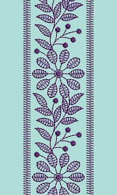 10957 Mens Neck Embroidery Design