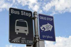 Google Bus Stop = GBUS STOP