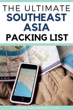 The ultimate South East Asia packing list plus free 3 page printable checklist! Plan your perfect Southeast Asia travels with packing lists for women, men, children and babies plus all the essentials Packing Checklist, Packing List For Travel, Packing Lists, Vacation Packing, Luang Prabang, Travel Guides, Travel Tips, Travel Destinations, Travel Info