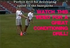 conditioning softball drill video