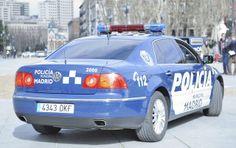 Volkswagen Pheaton - Policia Madrid