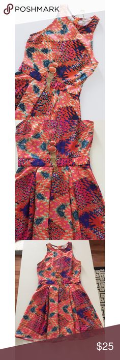 • Everly • Starburst print • Zipper back • Excellent condition • Purchased from local boutique • NO TRADES/HOLDS • All reasonable offers accepted • Francesca's Collections Dresses
