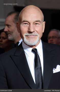 Hot Men, Hot Guys, Star Trek Cast, Men Portrait, Patrick Stewart, Ian Mckellen, Older Men, British Actors, Celebs