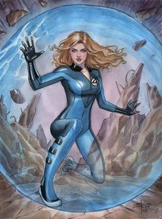 The Invisible Woman by Sabine Rich #SueStorm #FantasticFour #FF