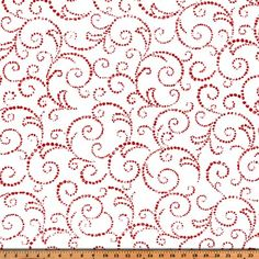 Scroll Lipstick Holiday Twill by Premier Prints