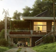 highly contemporary architecture within nature rich surroundings 2