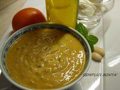 PESTO ALLA SICILIANA - ricetta veloce