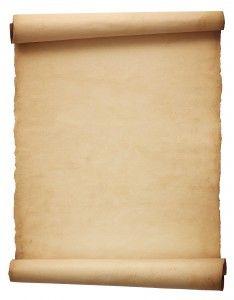 Фон для фотошопа - 145. Свиток из папирусной бумаги.
