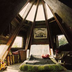 cozy, skylights, small spaces, relaxing