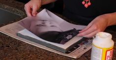 How to DIY Photo Canvas from Regular Photo
