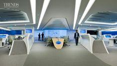 Hi tech Office interior