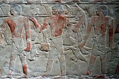 A hunting scene within Egypt's marshes from Mereruka's tomb