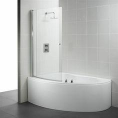 Eckwanne Dusche Modernes Badezimmer Einrichten