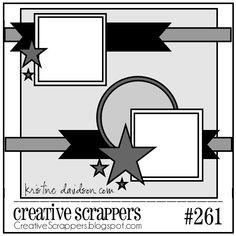 Creative Scrappers Sketch 259 - Scrapbook.com
