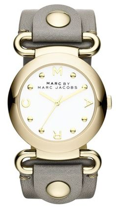 Marc by Marc Jacobs Molly Watch in Grey http://rstyle.me/n/fg6ninyg6