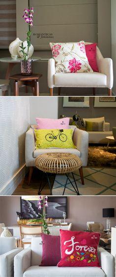 Poltrona charmosa para sala ou quarto de beleza. Ótima para leitura ❤