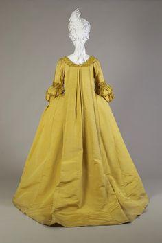 circa 1760s robe la francaise