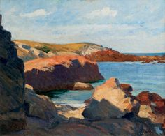 selection of Edward Hopper's paintings from Ogunquit, Maine