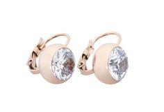 Ingnell Jewelllery - Olivia earring rose. Stainless steel. www.ingnelljewellery.com