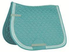 HKM MatchyMatchy (Turquoise) Saddlecloth & Bandage Set – PeeWee Saddlery