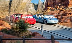 Radiator Springs Racers  Ages:Kids, Pre-teens & Teens, Adults  Come on down for a tow-tappin' square dance hosted by Mater from the Disney•Pixar movie Cars! Board a trailer pulled by an adorable baby tractor and swing in time to the lively music.