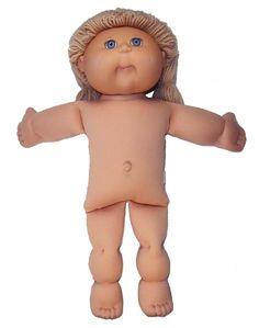 "18.5 Inch Cabbage Patch Kids Doll Clothes Patterns-torso 7"", head- 15"",neck 8"", inseam 5.25"", leg-4.25"""