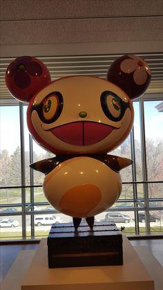 Takashi Murakami-Panda at the Minneapolis Institute of Art
