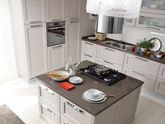 CLAUDIA Cucina decapata by LUBE INDUSTRIES S.R.L.