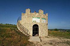 Wieża widokowa na danwym kamieniołomie