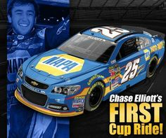 Chase Elliott First Cup Car 2015 #25