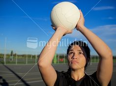 mychillybin - New Zealand's best royalty-free stock image library. Girl Portraits, Netball, Kiwi, New Zealand, Close Up, Woman, Image, Maori, Basketball