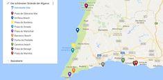 Die schoensten Straende der Algarve