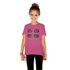 Call me 4 Eyes-Style: Girls' Basic American T
