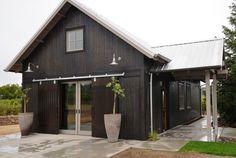 Classic Gooseneck Barn Lights for Boutique California Winery   Blog   BarnLightElectric.com Garage Design idea!
