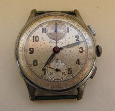 VINTAGE BREITLING CHRONOGRAPH WATCH