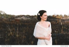 At her nuptial affair, held in the heart of winter, this bride kept cosy by wrapping a fur cape around her arms. Winter Wedding Inspiration, Wedding Ideas, Charlie Ray, Fur Cape, Couple Shower, New Life, Big Day, Cosy, Affair