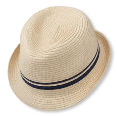 e60ac561fc2 straw fedora - have to bring him in store to check sizing Baby Boy  Accessories