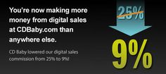 Now You Make More Money When You Sell MP3s on CDBaby.com - DIY Musician Blog