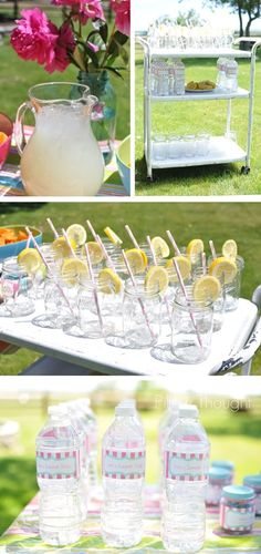 CUTEST first birthday party ideas for a little girl! http://media-cache4.pinterest.com/upload/5418462021769280_Mbmw9uMF_f.jpg jrich233 party decor and lighting