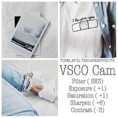 VSCO CAM - Ultimate guide to editing your insta pics!