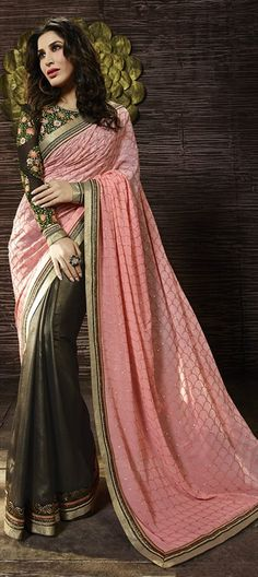 Online saree shopping India at sarees palace. choose from a huge collection of designer, ethnic, casual sari, buy sarees online India for all occasions. Bridal Sarees Online, Sarees Online India, Hyderabad, Chennai, Half And Half, Modern Saree, Trendy Sarees, Saree Shopping, Latest Designer Sarees