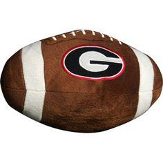 NCAA Georgia Bulldogs Football Pillow